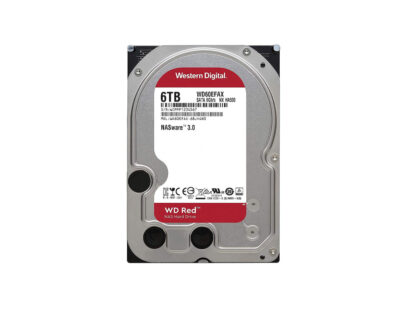 Western Digital Red WD60EFRX Intenal Hard Drive 6TB