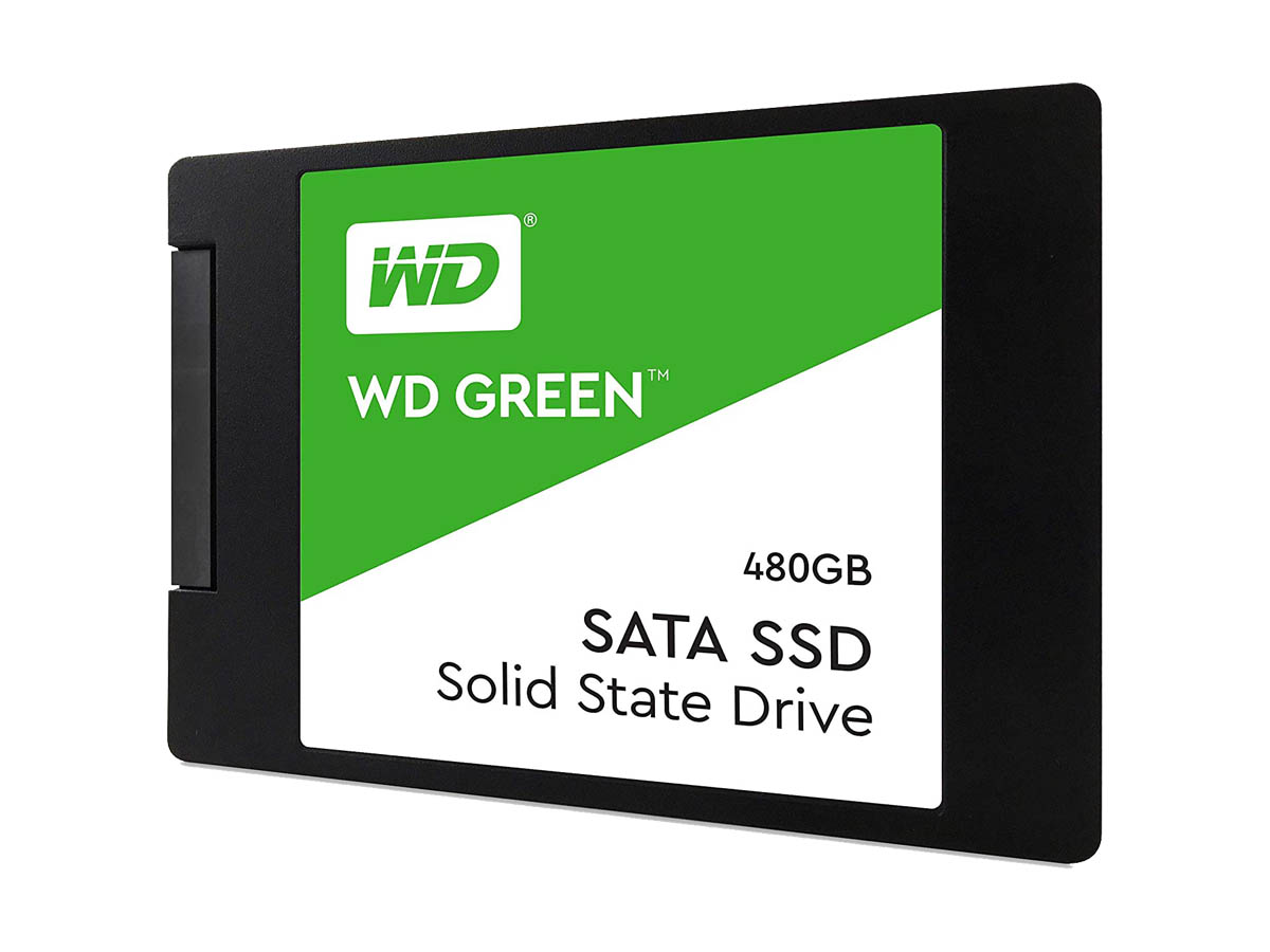 Western Digital GREEN WDS480G2G0A SSD Drive - 480GB