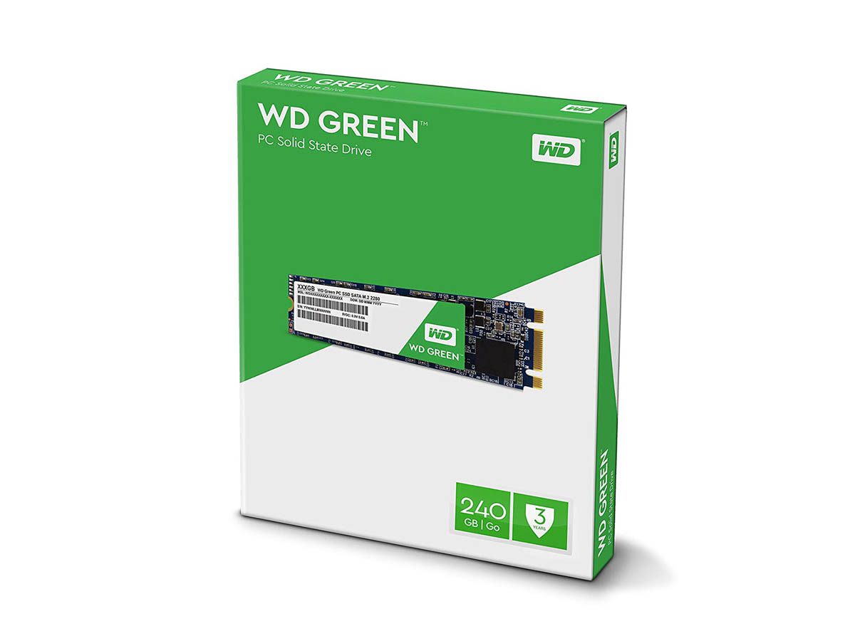 western digital GREEN WDS240G2G0B internal ssd