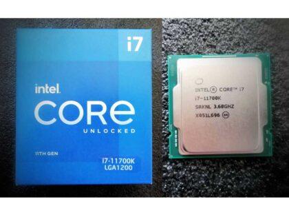 intel i7 11700k CPU