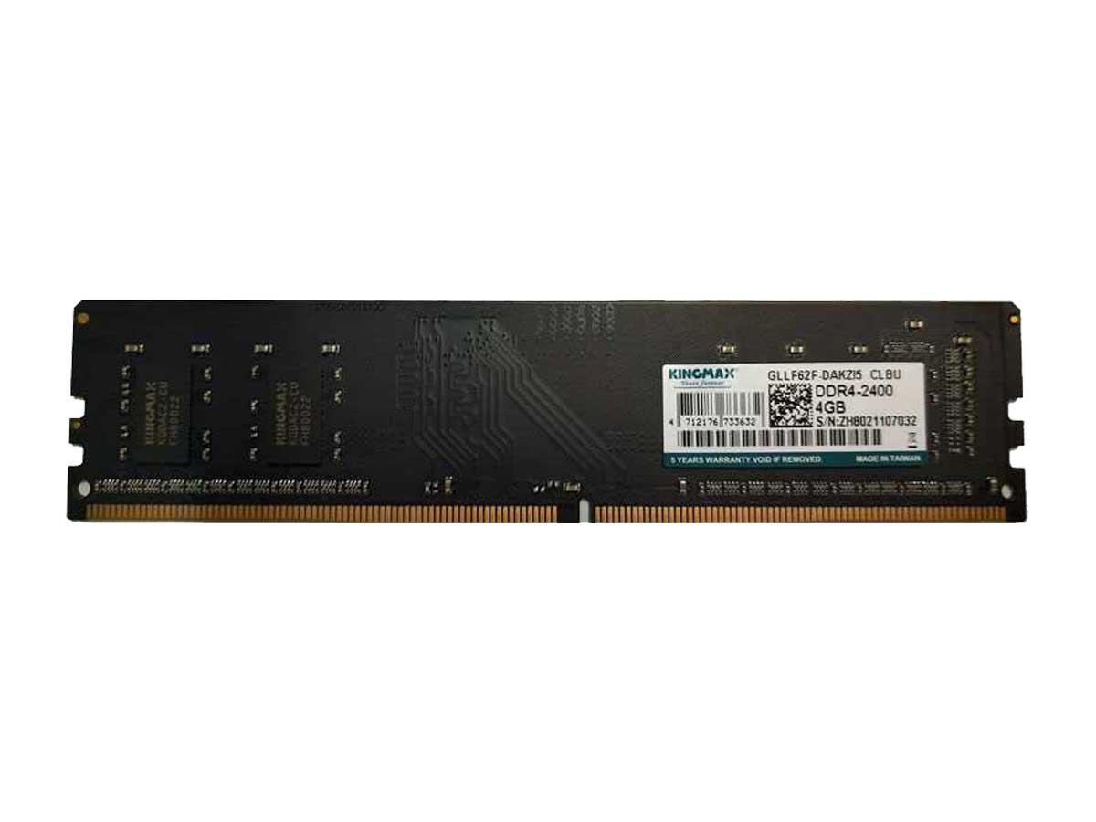 Kingmax DDR4 2400MHz Single Channel 4GB Desktop RAM