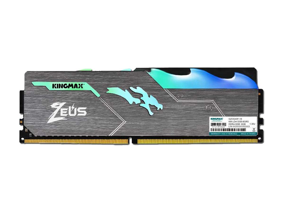 Kingmax DDR4 single channel 3200Mhz 8GB CL16 RGB RAM