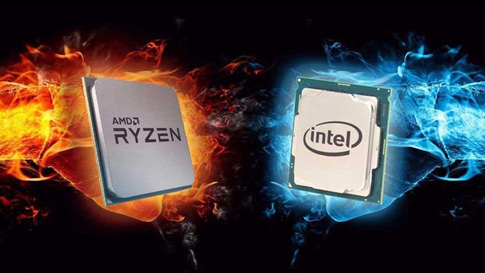 پردازنده اینتل و AMD