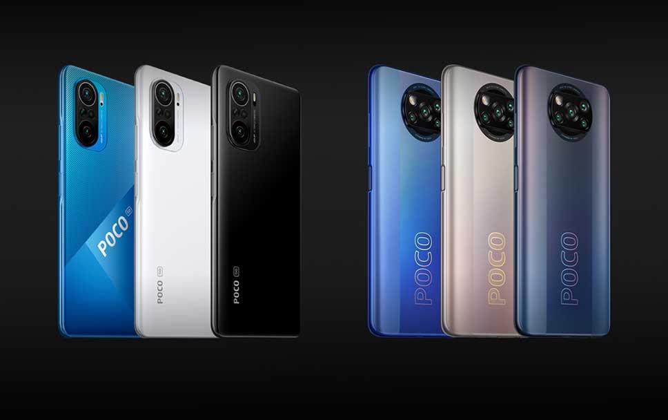 گوشیهای پوکو X3 و پوکو F3