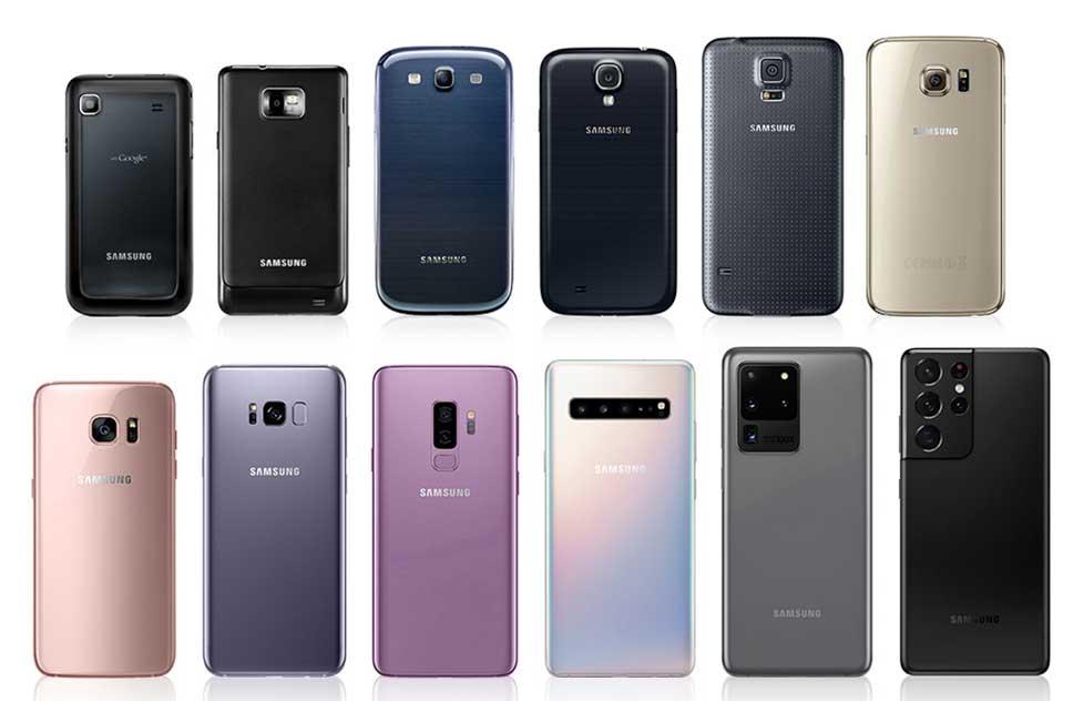 انواع گوشی موبایل سامسونگ