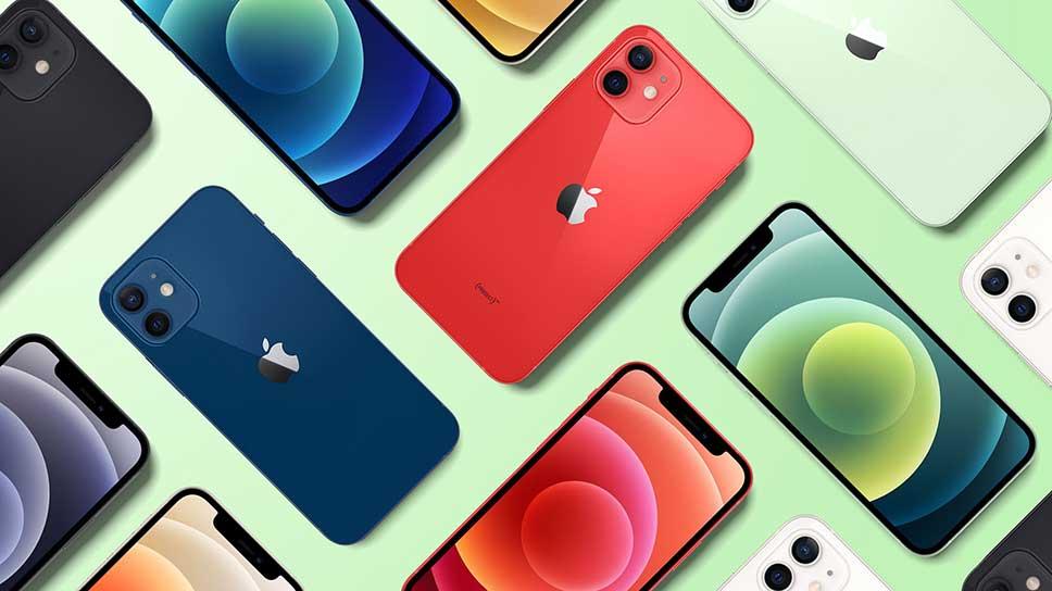 قیمت گوشی های آیفون 12