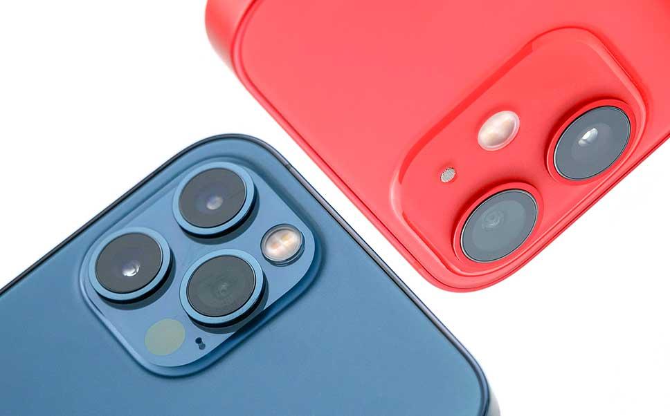 دوربین گوشی های آیفون 12