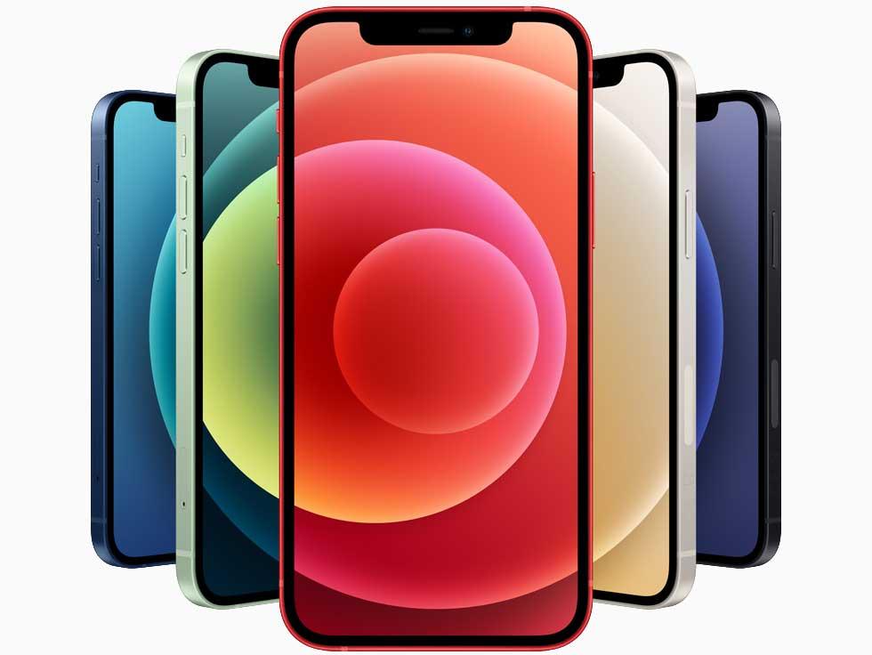 نمایشگر گوشی های آیفون 12