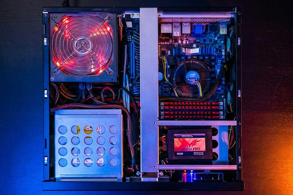 انواع قطعات کامپیوتر