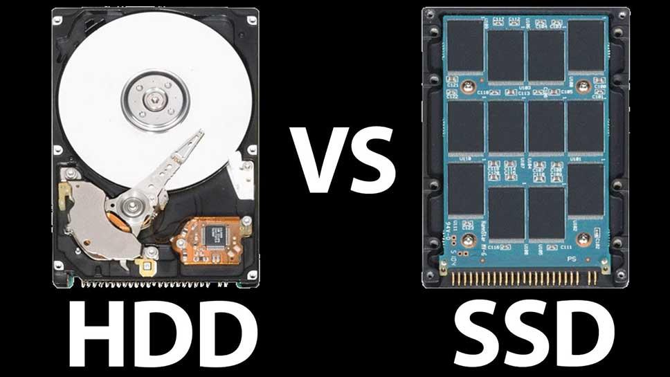 تفاوت HDD و SSD