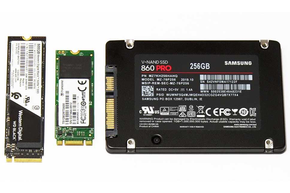 انواع هارد SSD