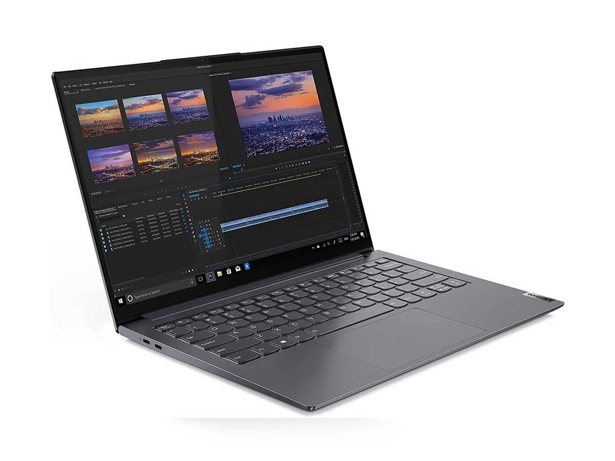 لپ تاپ 14 اینچی لنوو مدل Yoga Slim 7 Pro-i7 11370H-16GB-1TSSD