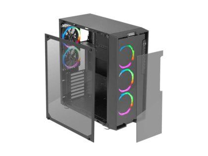 Green Z6 RGB ARTEMIS computer case